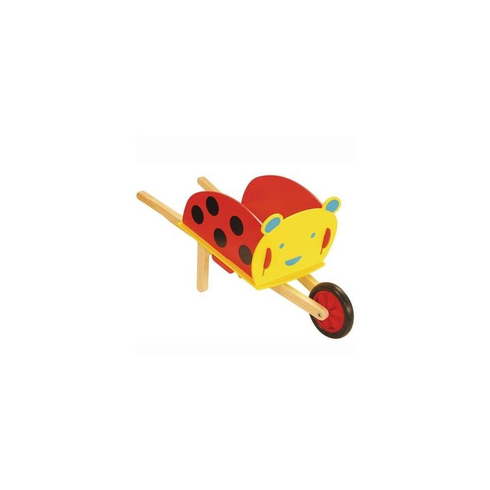 Brouette Coccinelle De Jardinage En Bois Pour Enfants - House Of Toys serapportantà Brouette Deco Jardin