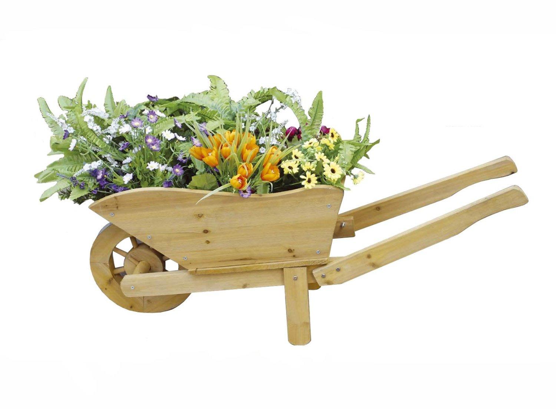 Brouette Decorative Florale à Brouette Deco Jardin