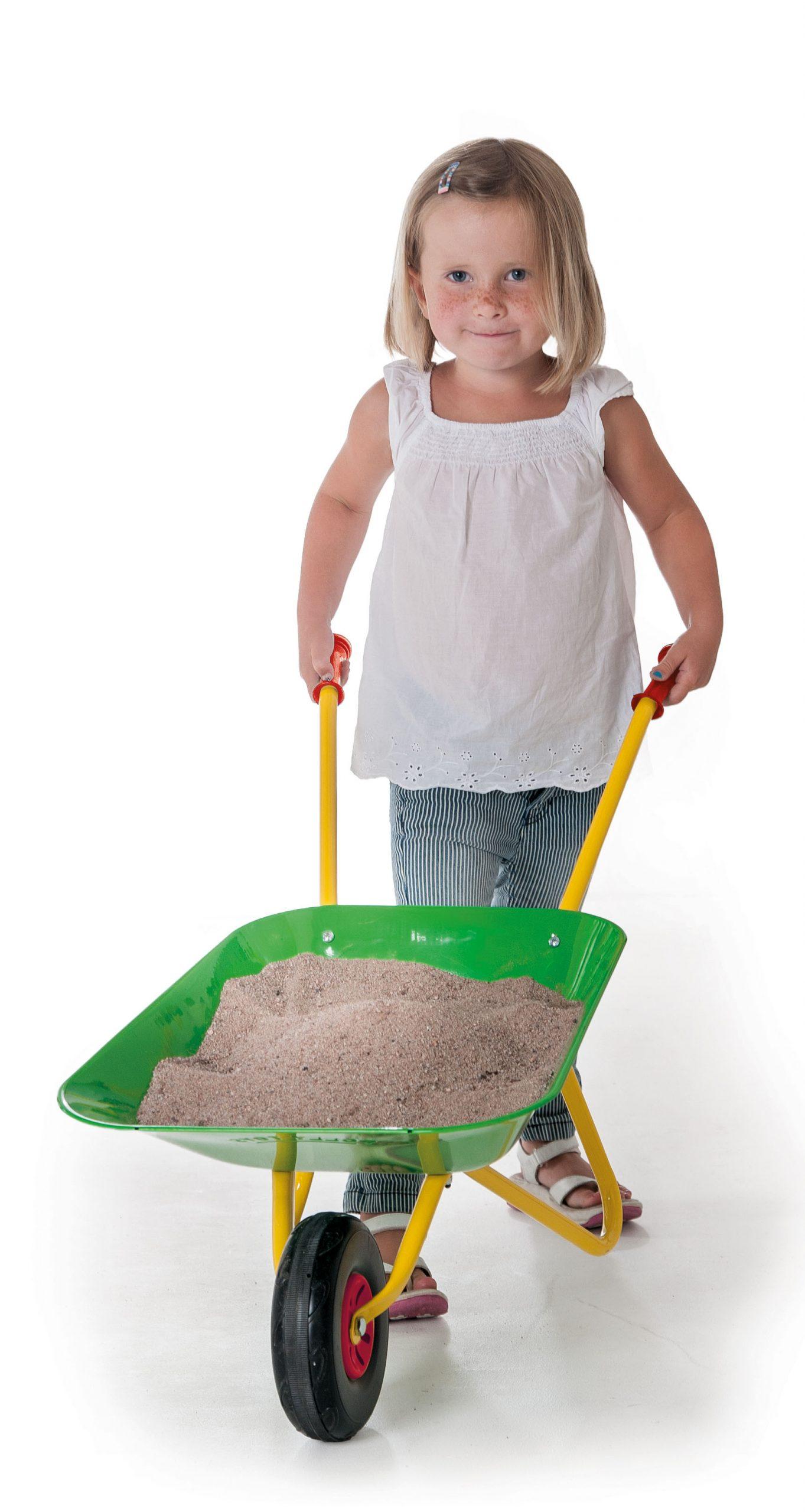 Brouette Verte Pour Enfants concernant Brouette Jardin Enfant
