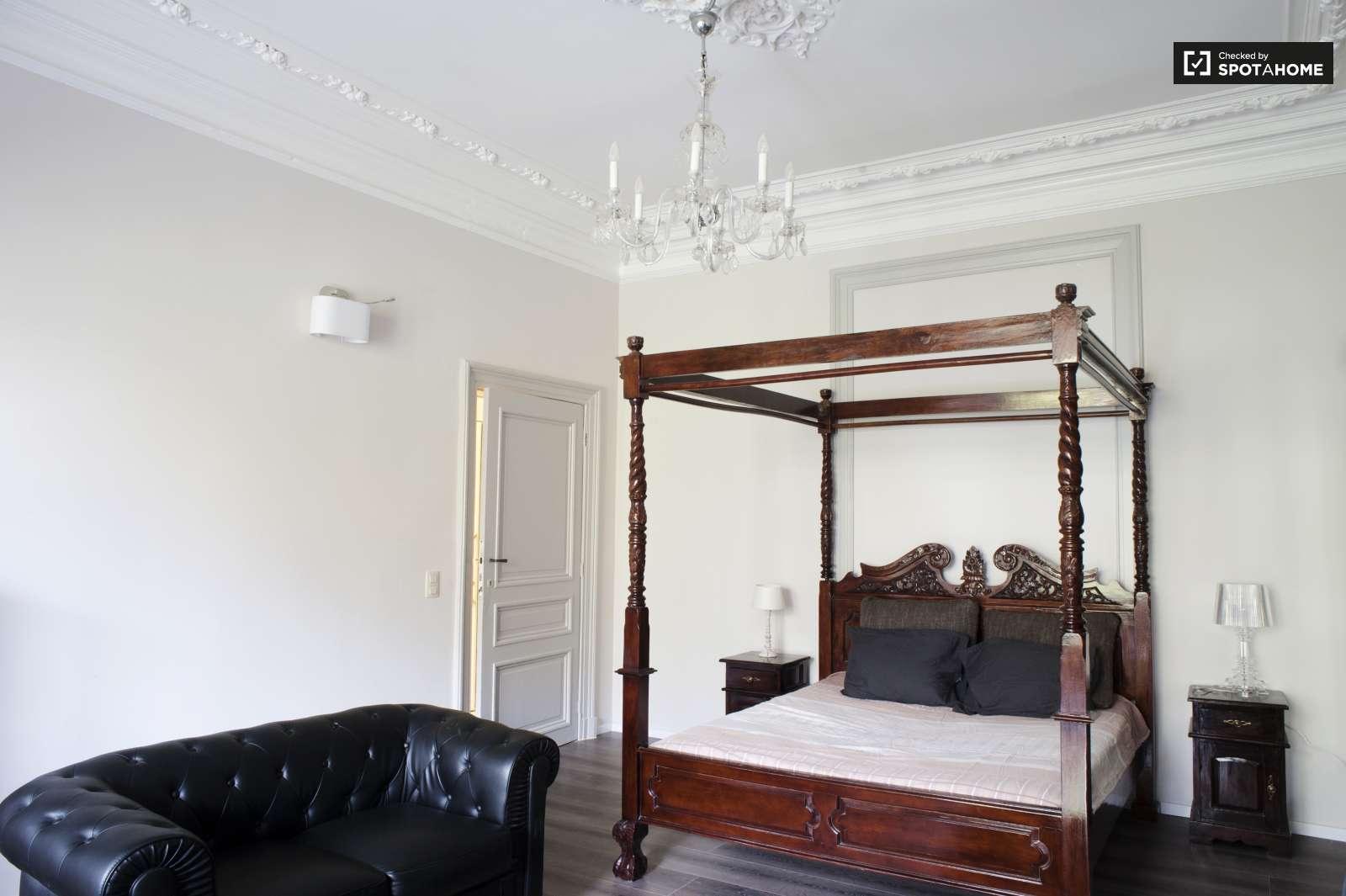 Brüksel, Belçika Kiralık Stüdyo Daireler. | Erasmusu pour Studio De Jardin Habitable