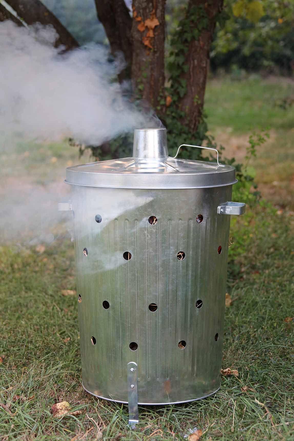 Brûlez Vos Déchets Verts Dans Votre #jardin En Toute ... avec Incinerateur Jardin