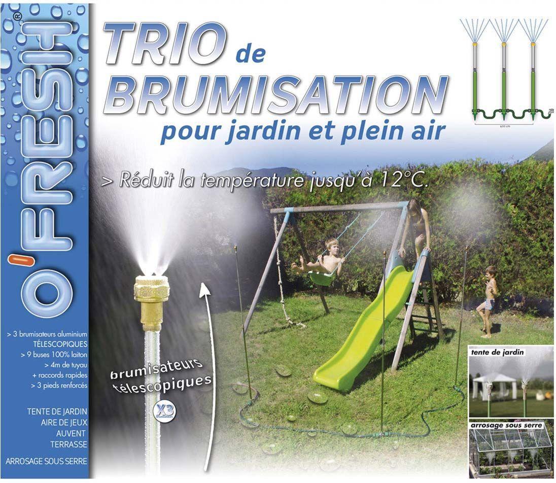 Brumisateur De Jardin Sur Pied Trio 4 Mètres pour Brumisateur Jardin