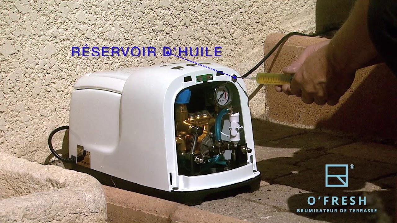 Brumisateur Haute Pression O'fresh pour Brumisateur De Jardin