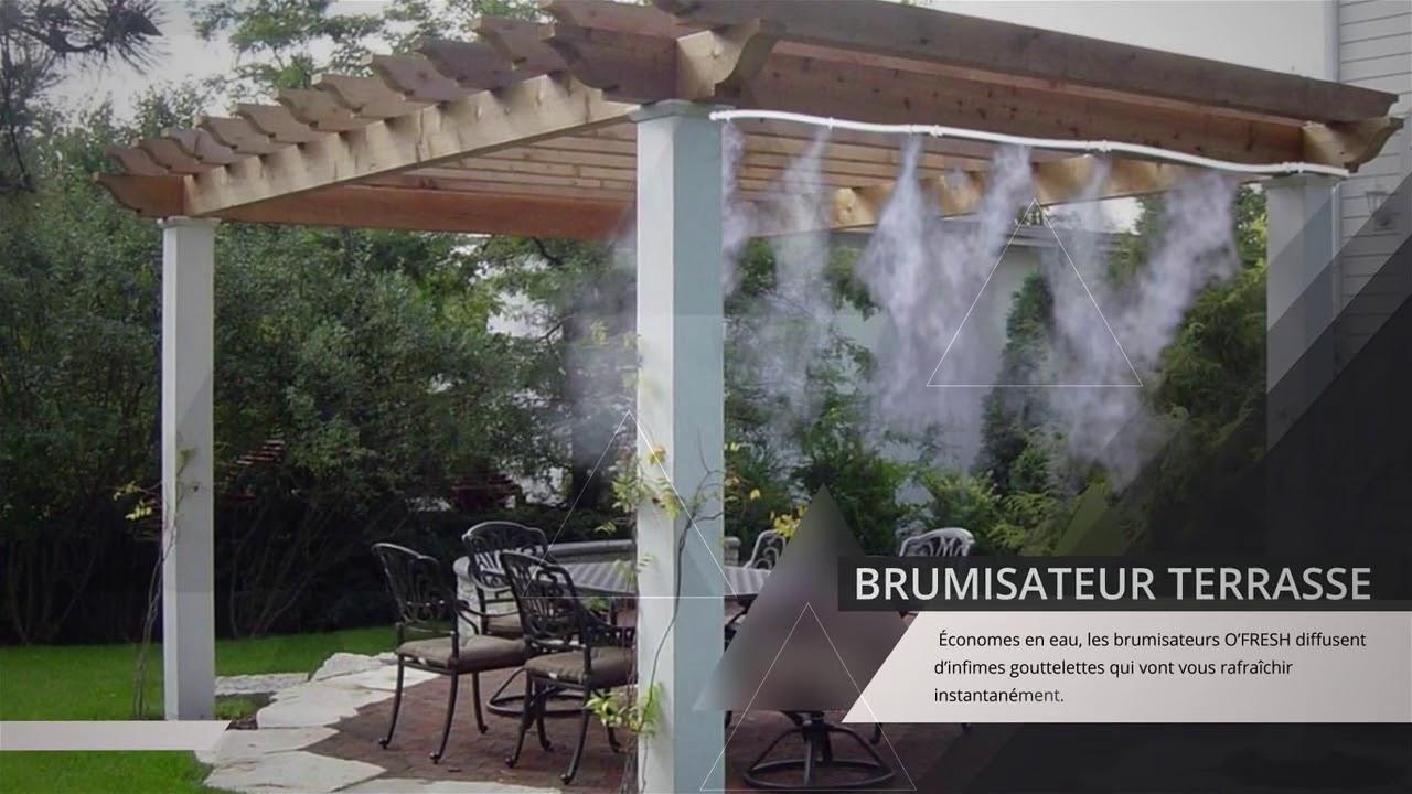 Brumisateur Terrasse / Jardin : Collection O Fresh tout Brumisateur De Jardin