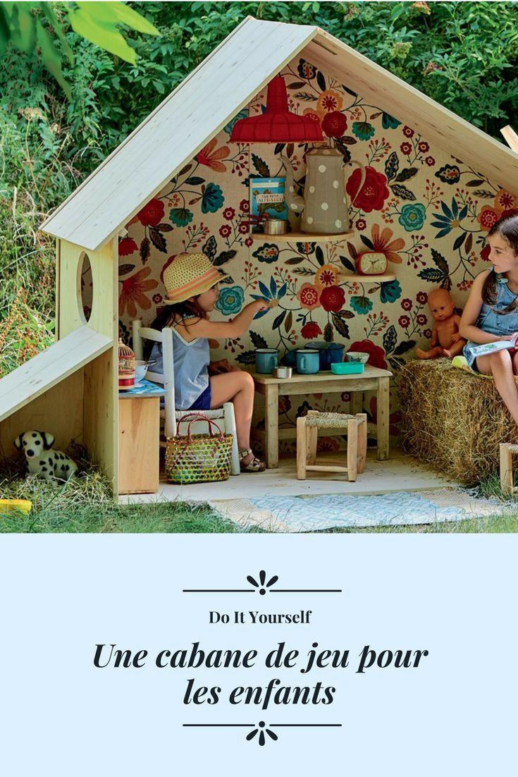 Build Children's Garden Hut - Marie Claire Idées | Kids ... à Fabriquer Une Cabane De Jardin
