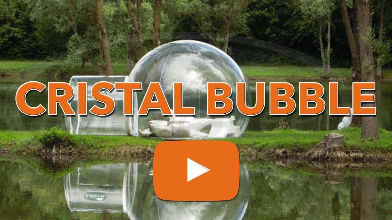 Bulle Gonflable Geante ? La Cristal Bubble De Bubbletree concernant Bulle De Jardin Prix