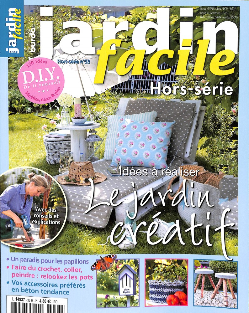 Burda Jardin Facile Hors-Serie dedans Revue Jardin Facile