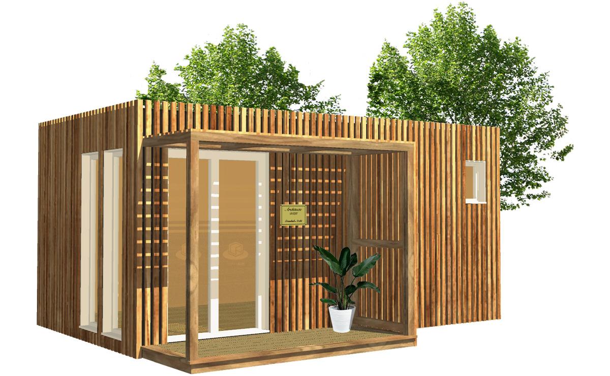 Bureau De Jardin concernant Construire Un Abri De Jardin En Bois Soi Meme