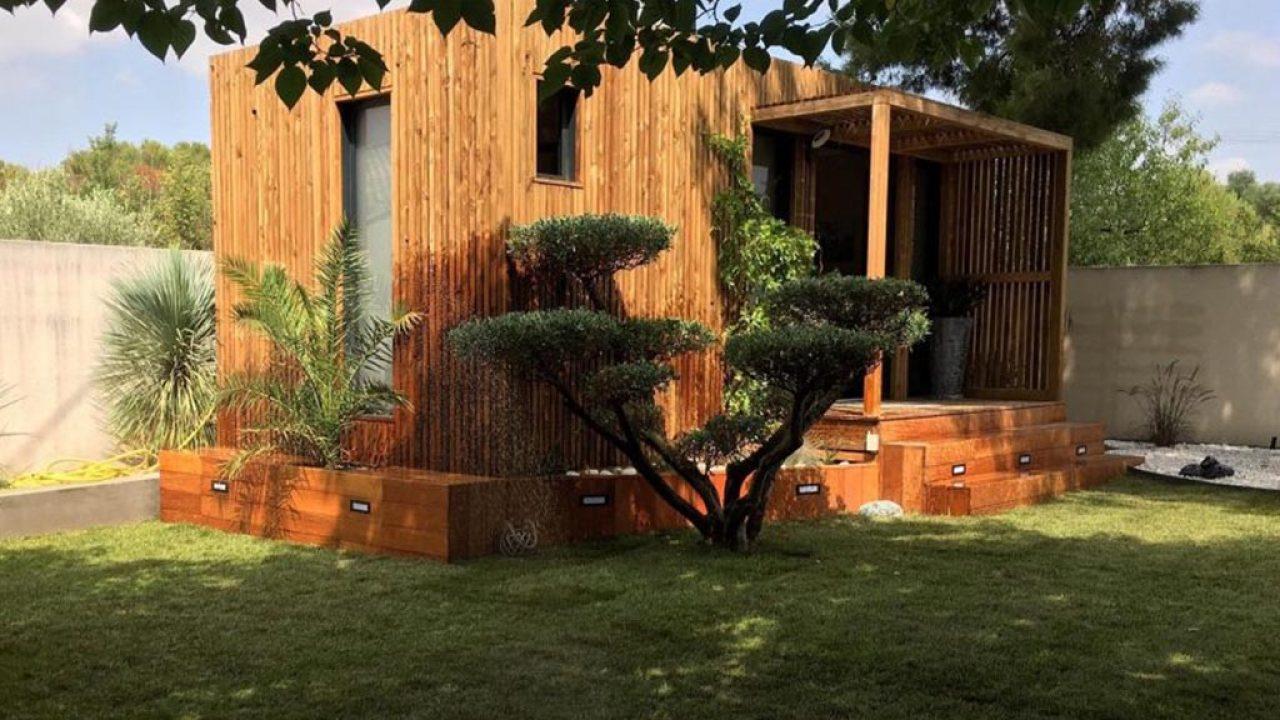 Bureau De Jardin En Kit : L'abri De Jardin En Ossature Bois ... intérieur Bureau De Jardin En Kit