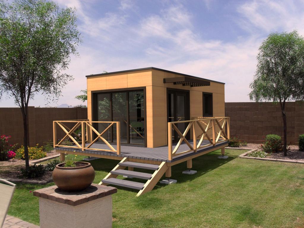 Bureau De Jardin Isolé : Sans Permis De Construire avec Bureau De Jardin En Kit