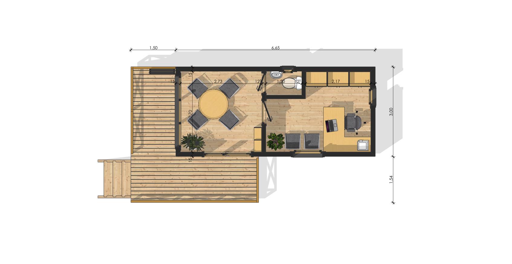 Bureau De Jardin Isolé : Sans Permis De Construire destiné Bureau De Jardin En Kit