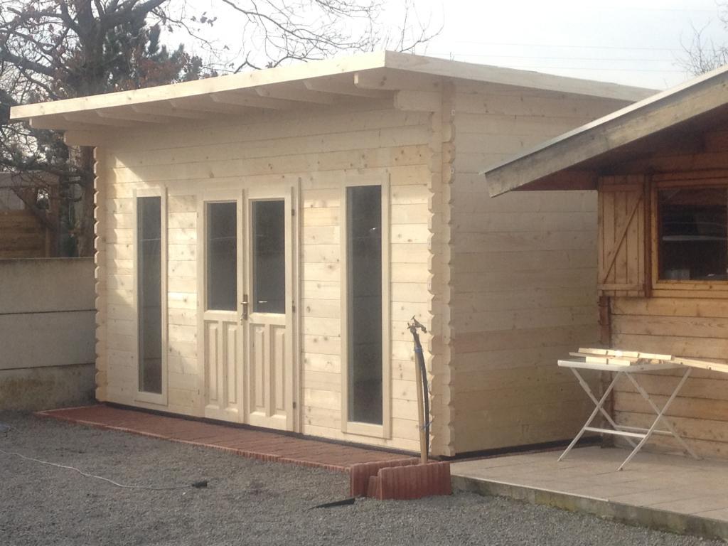 Bureaux De Jardin : Sans Permis De Construire avec Bureau De Jardin En Kit
