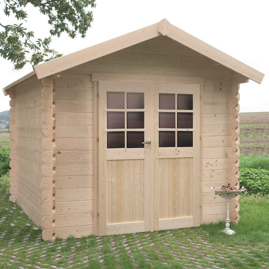Cabane De Jardin 5M2 Bois Pas Cher | Cabane De Jardin intérieur Abri De Jardin 5 M2