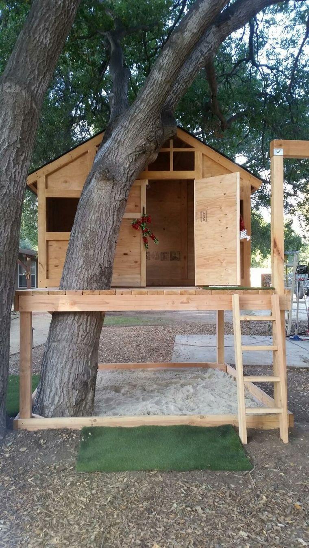 Cabane De Jardin Enfant Et Déco D'aire De Jeux D'extérieur ... serapportantà Maison Jardin Bois Enfant
