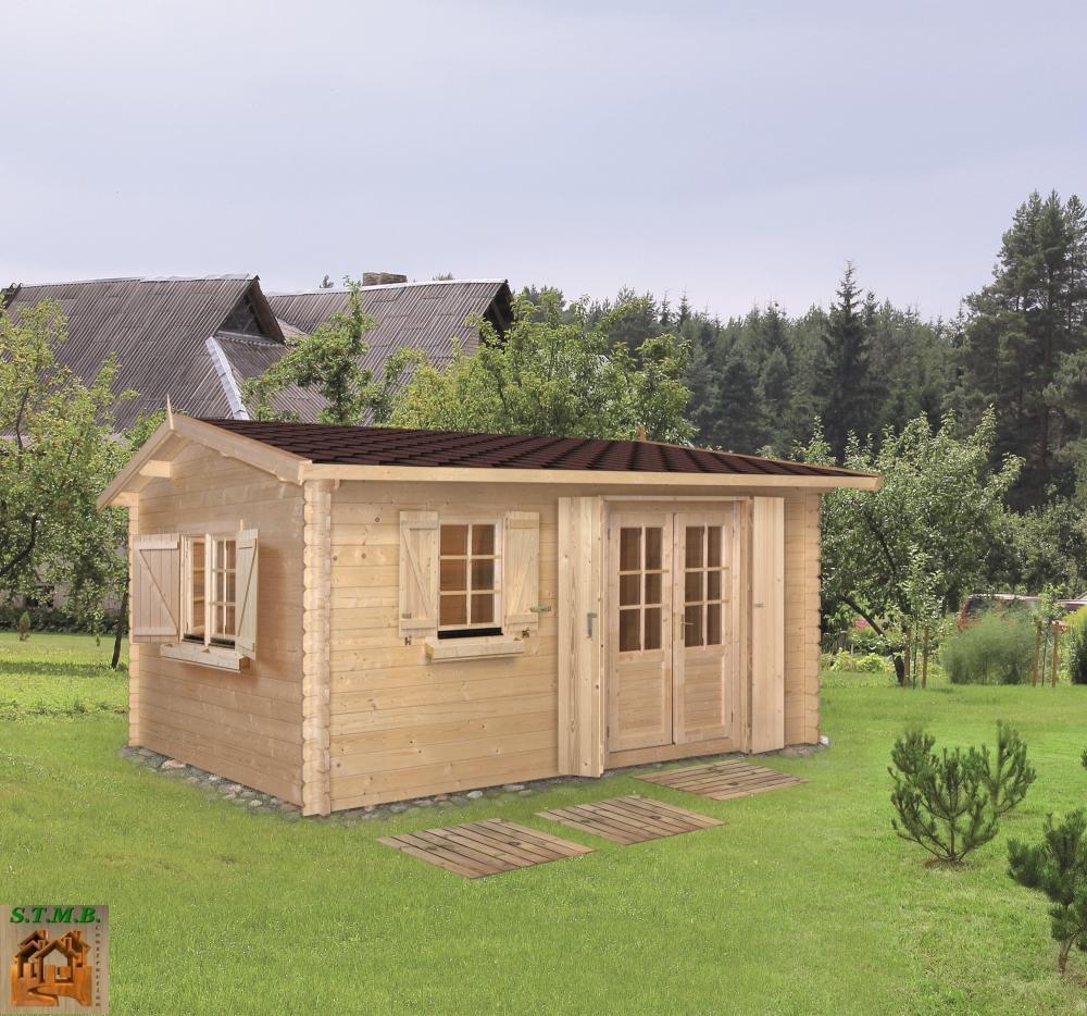 Cabane De Jardin Habitable | Sans Permis De Construire | Stmb destiné Abri De Jardin Habitable