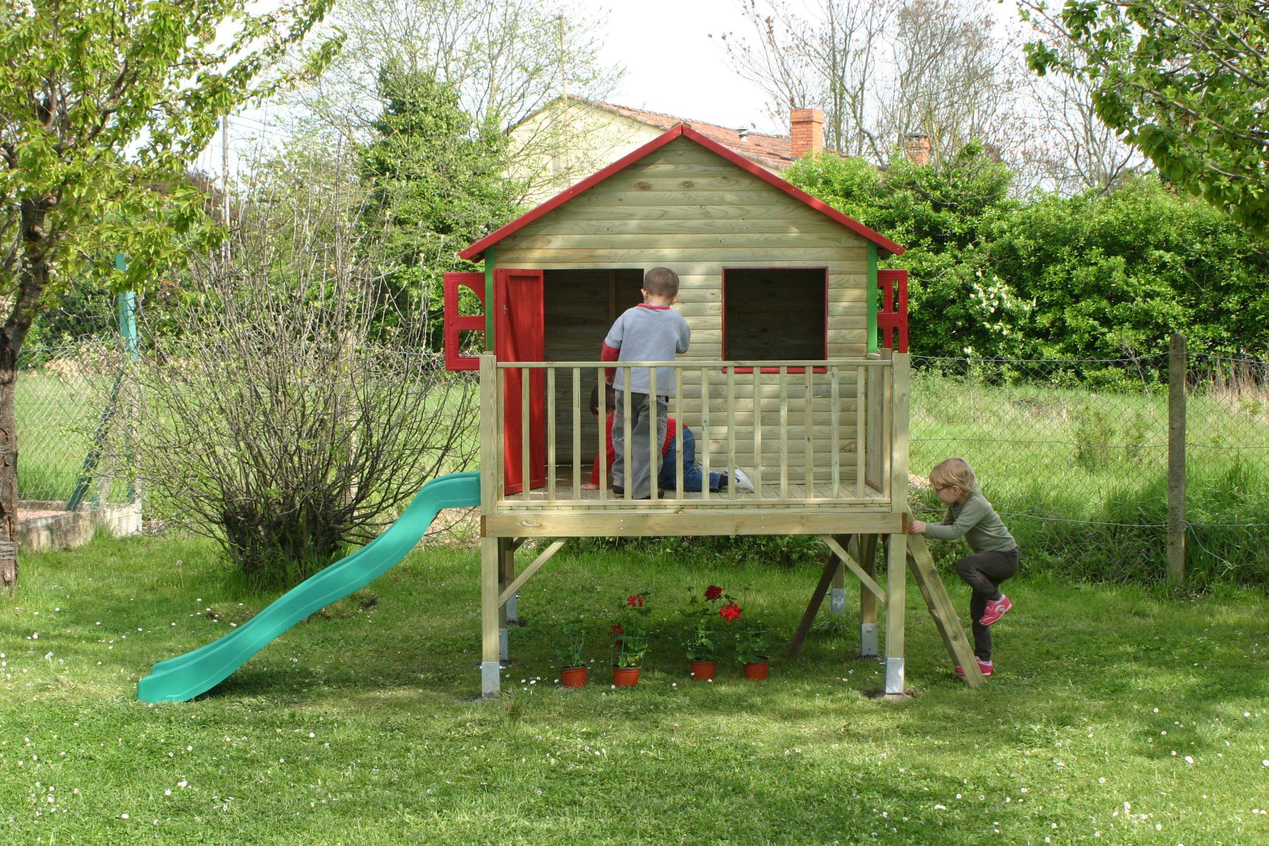Cabane De Jardin Pour Les Enfants   Nos Rénos Décos pour Maison De Jardin Pour Enfants