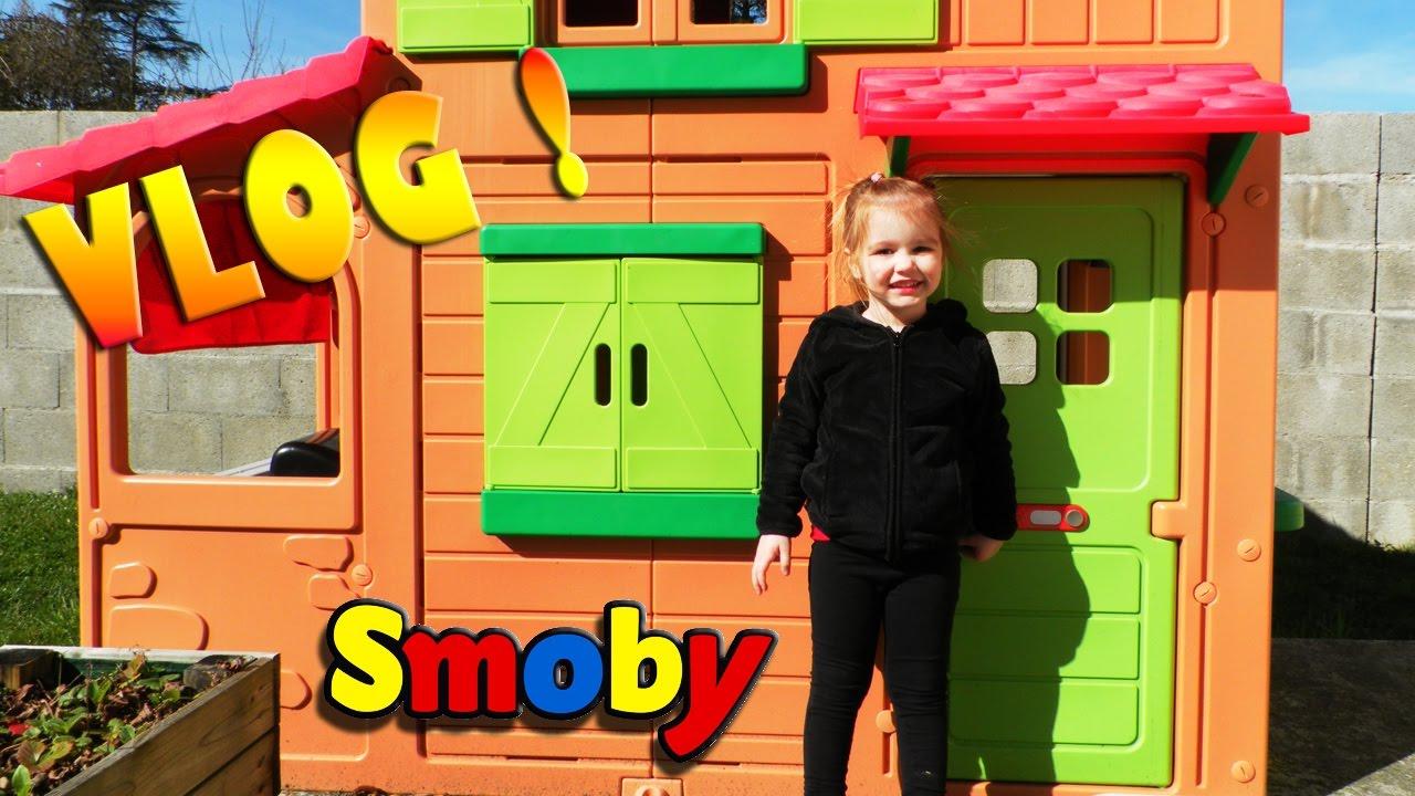 Cabane D'extérieur Maison Duplex Smoby Pour Enfant (Outdoor) concernant Maison De Jardin Smoby