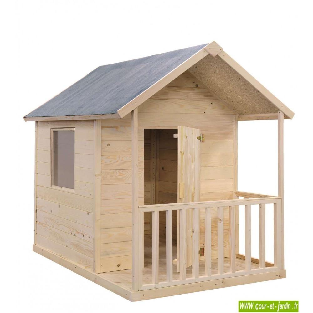 Cabane En Bois Pour Enfant, Cabane De Jardin Pour Enfants ... à Maison De Jardin Pour Enfant