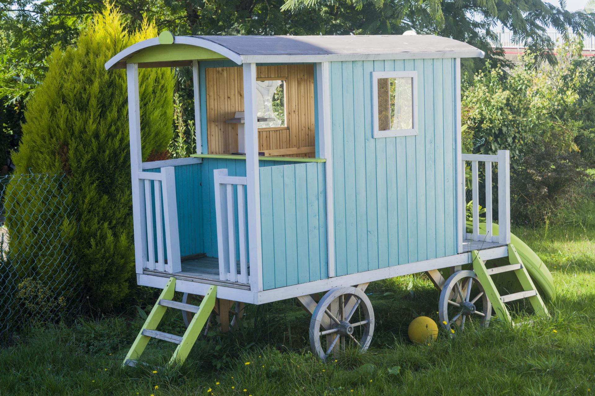 Cabane En Bois Pour Enfant, Cabane Jardin Enfant - Acheter ... à Maison De Jardin Enfant Pas Cher