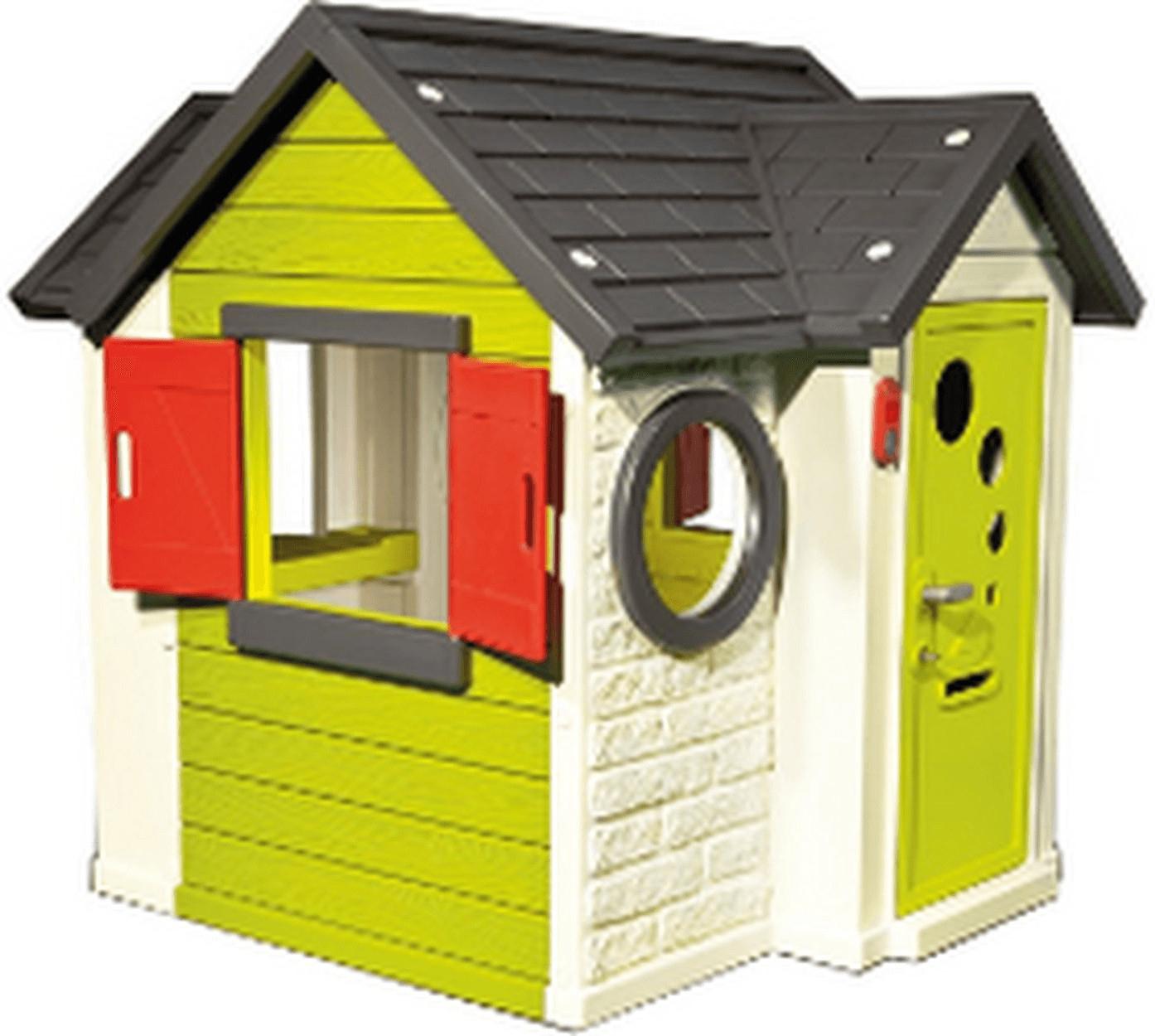 Cabane En Plastique : Smoby My House intérieur Maison De Jardin Smoby