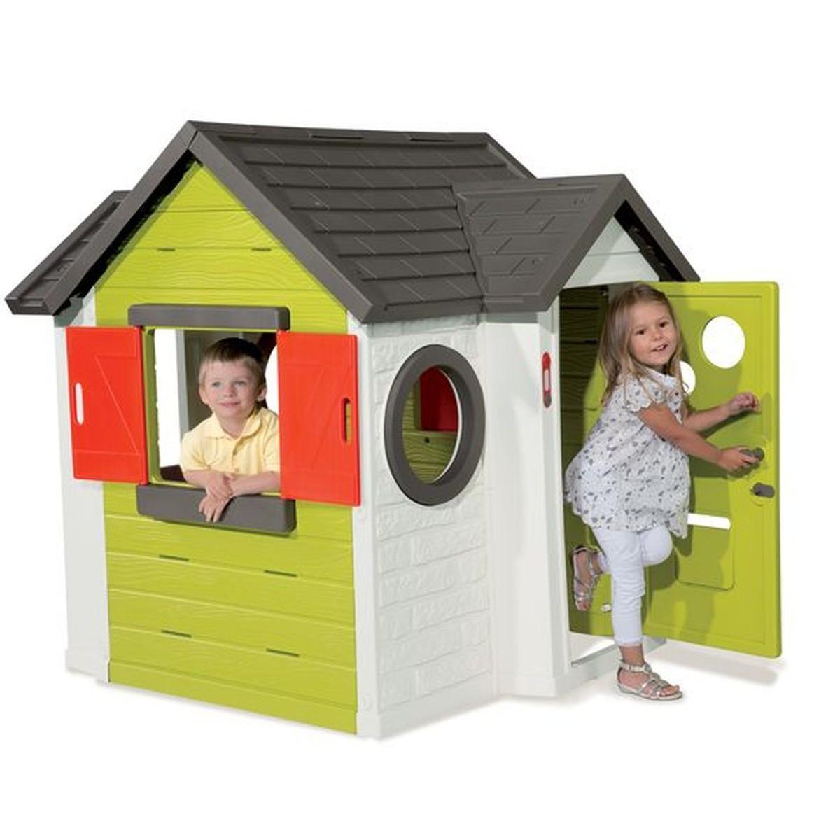 Cabane Enfant ⇒ Comparatif, Avis Et Meilleurs Modèles 2020 serapportantà Maison De Jardin En Plastique