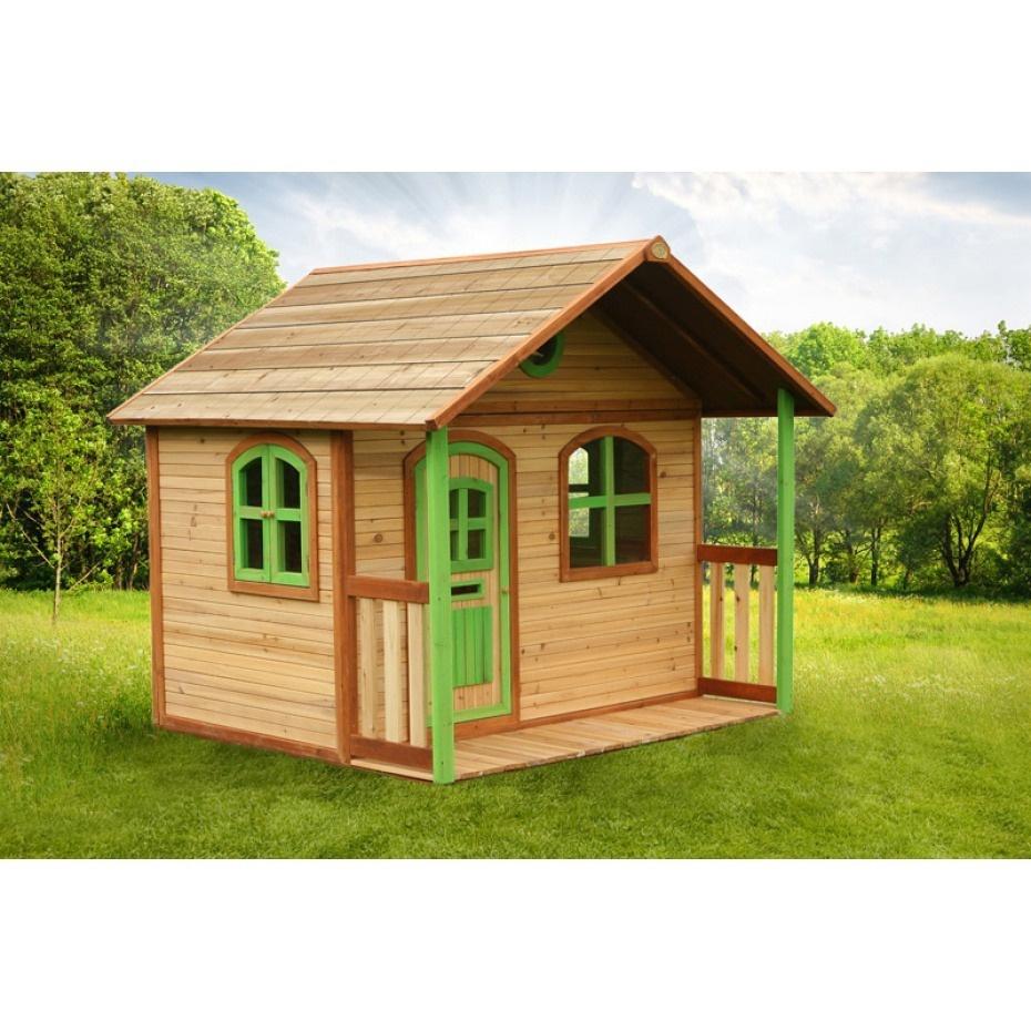 Cabane Enfant En Bois Milan Axi - Eden Deco tout Maison De Jardin Pour Enfant