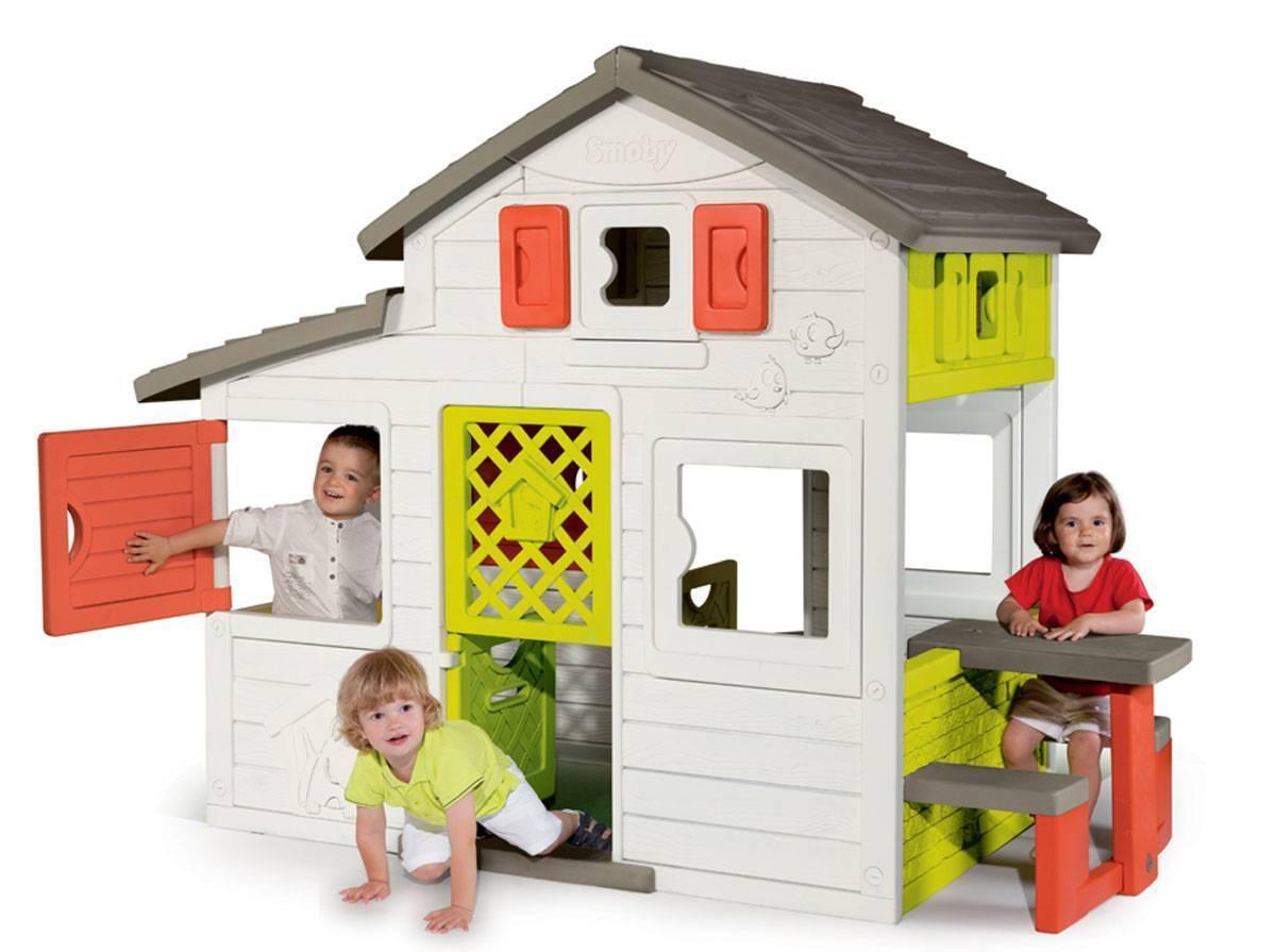 Cabane Enfant Friends House avec Maison De Jardin Smoby