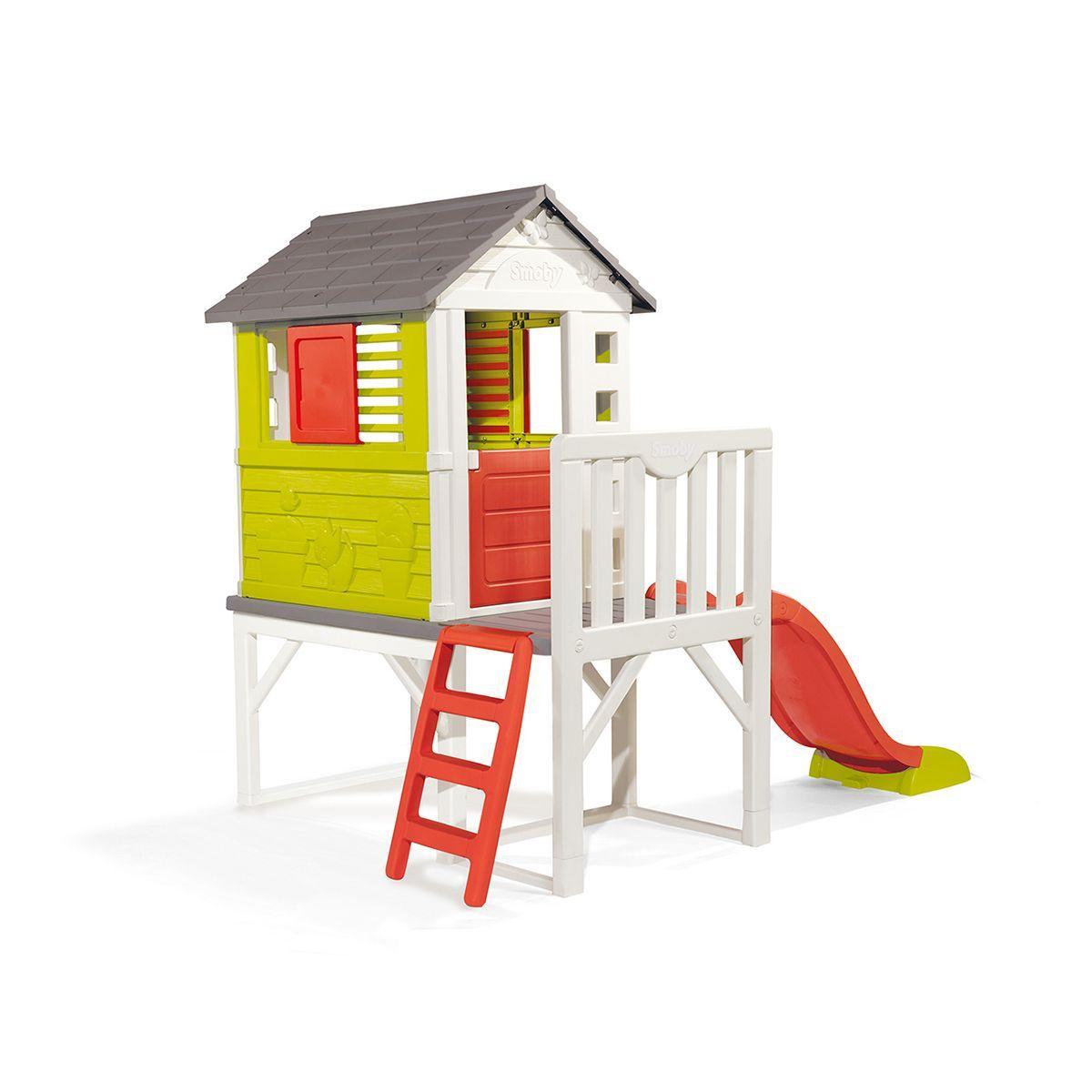 Cabane Enfant Pilotis - Smoby | Maison Sur Pilotis, Cabane ... à Maison Jardin Smoby