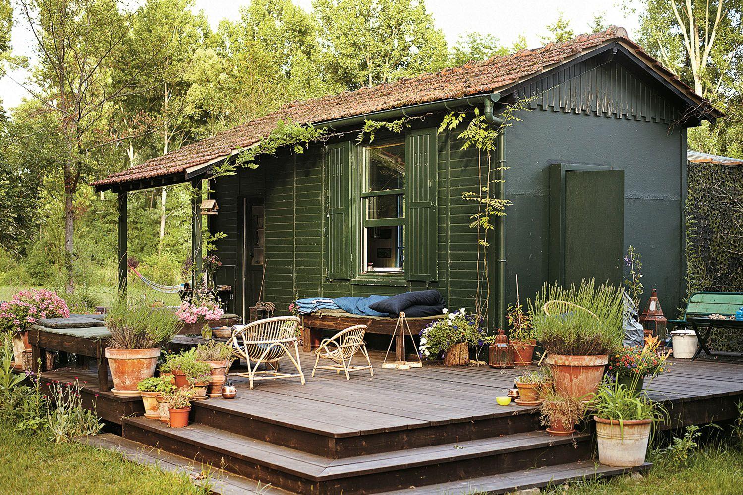 Cabanne | Cabanes Rustiques, Maison Enfant Exterieur Et ... intérieur Cabanne De Jardin