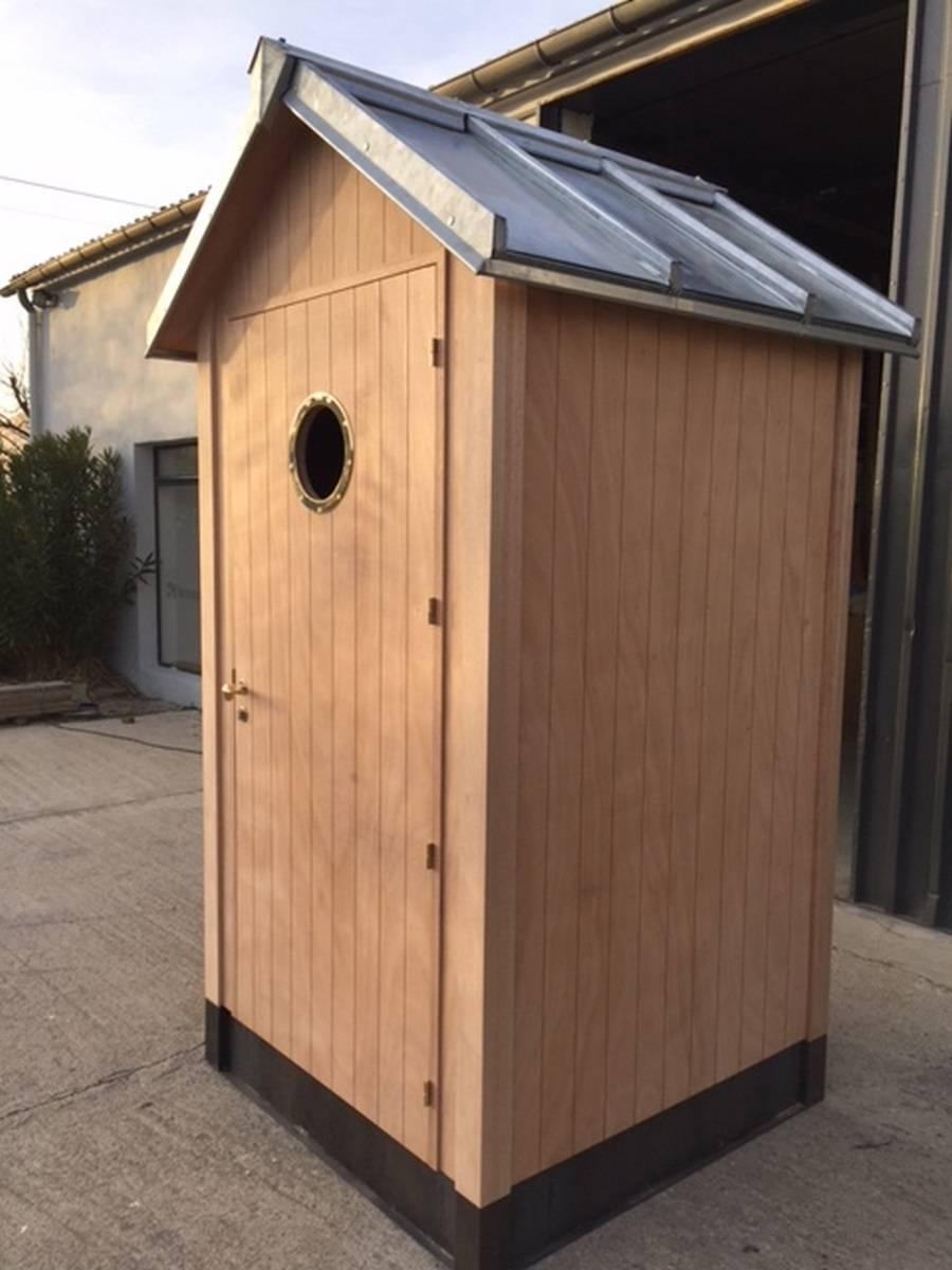 Cabine De Plage En Bois En Kit Pour Jardin. - Constructeur ... avec Cabine De Plage Pour Jardin