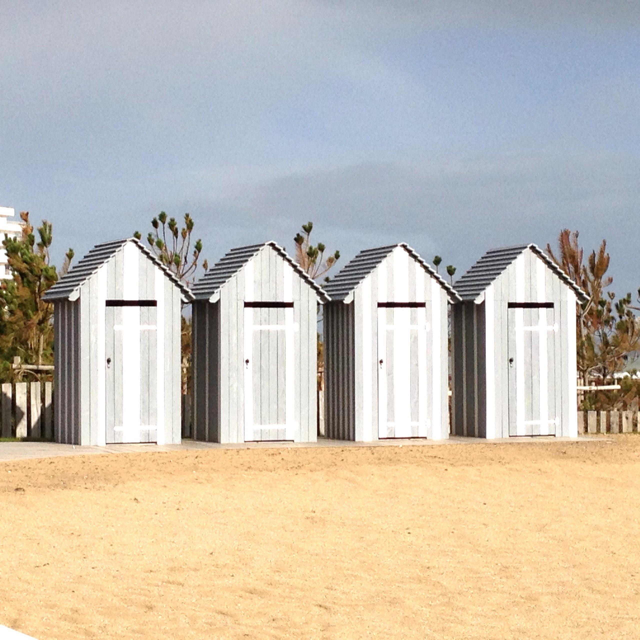 Cabine Plage Bois Plage D'occasion intérieur Cabine De Plage Pour Jardin