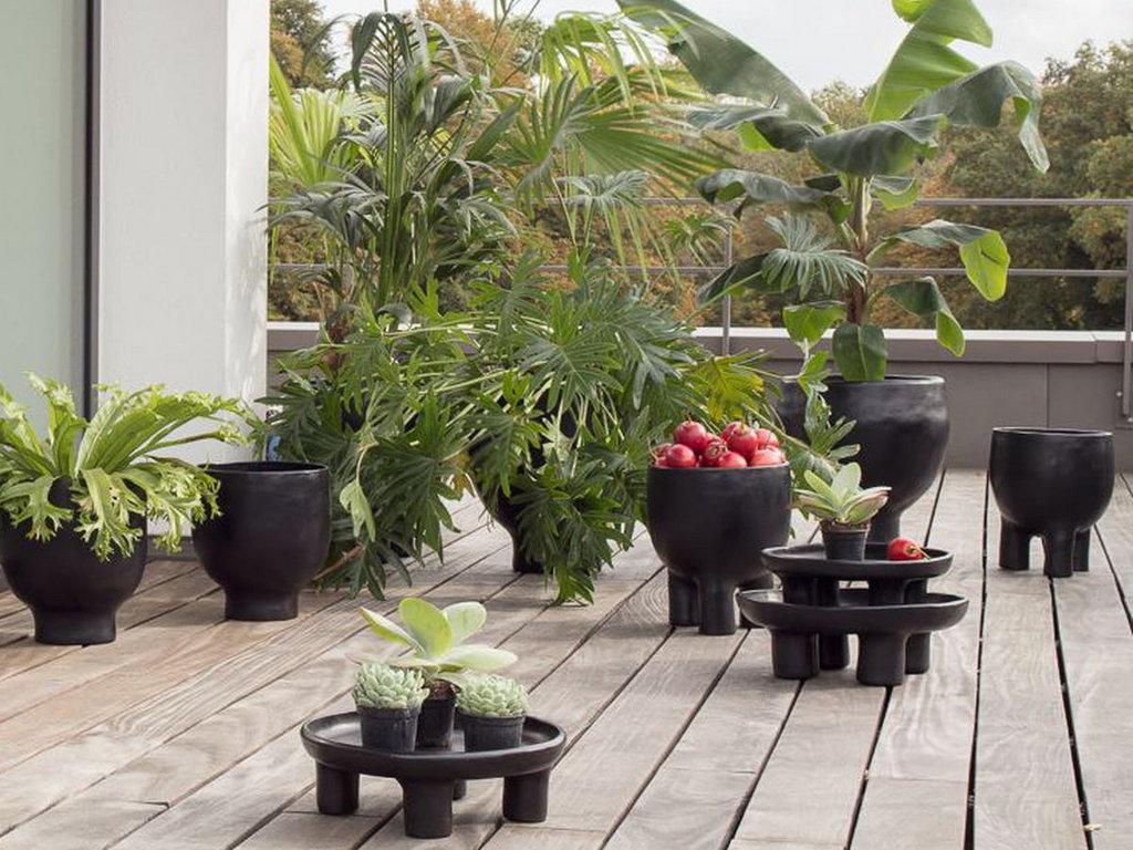 Cache-Pot Design Extérieur : Où En Trouver - Joli Place à Pot Deco Jardin Exterieur
