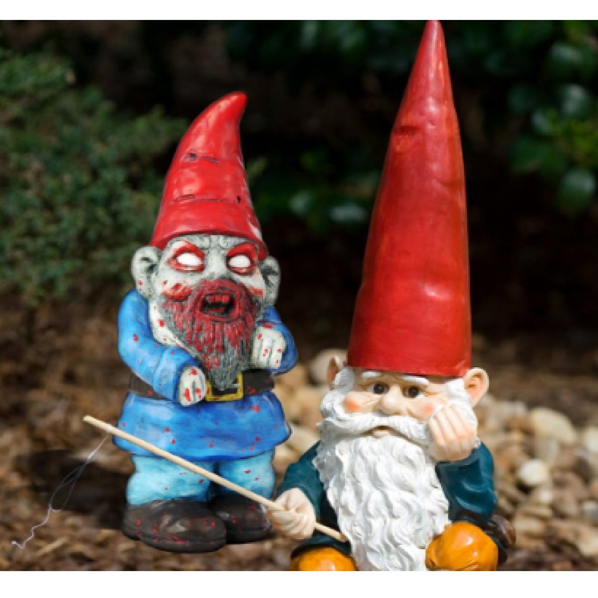 Cadeaux 2 Ouf : Idées De Cadeaux Insolites Et Originaux ... intérieur Nain De Jardin Zombie