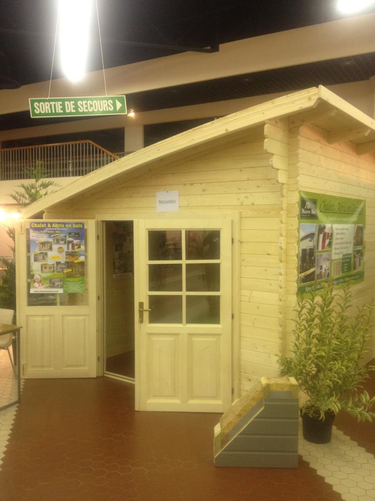 Caen - 9M² - Chalets Habitables En Bois En Kit Sans Permis ... tout Abris De Jardin Habitable