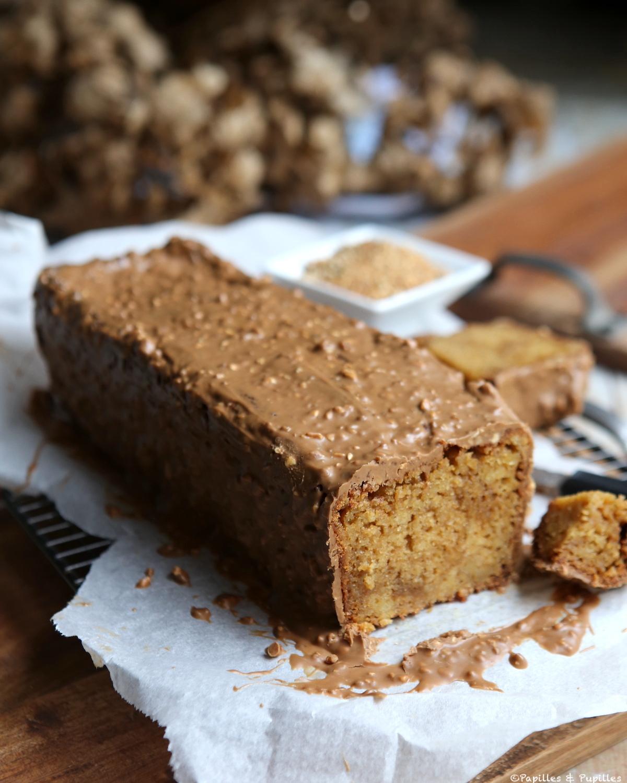 Cake Praliné Noisettes intérieur Pralin Jardin