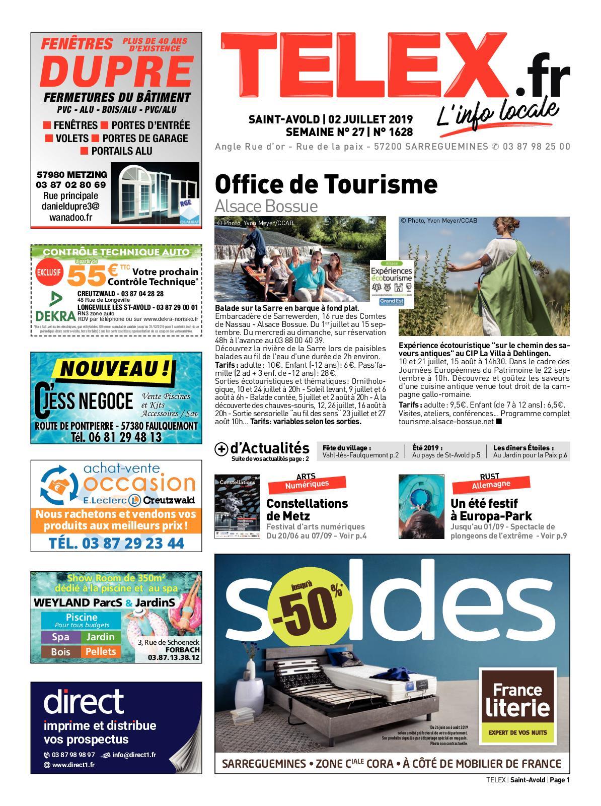 Calaméo - 2719 St Avold tout Portillon De Jardin D Occasion