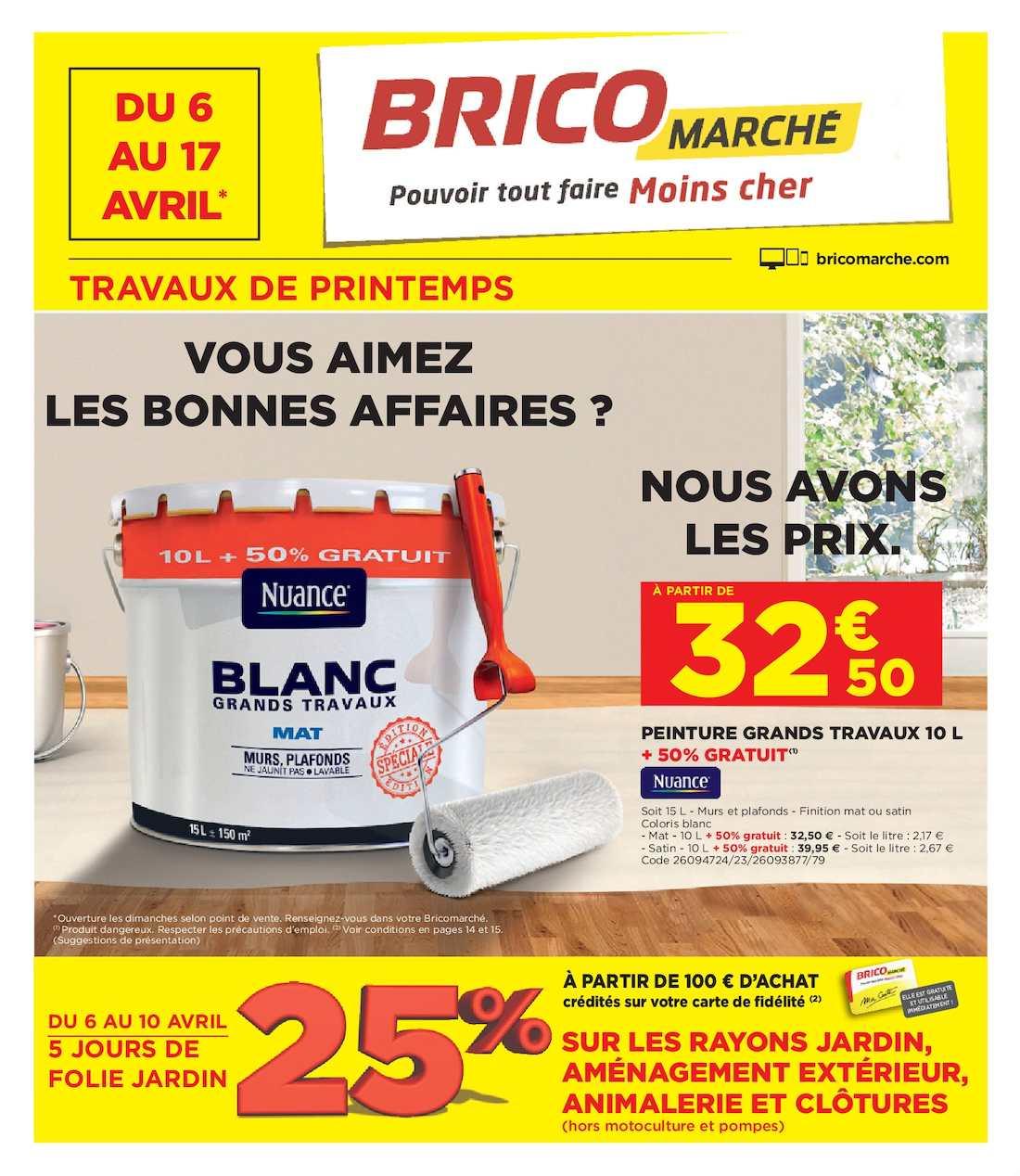 Calaméo - Bricolez, Jardinez, Pensez Bricomarché !!! pour Abris De Jardin Bricomarché