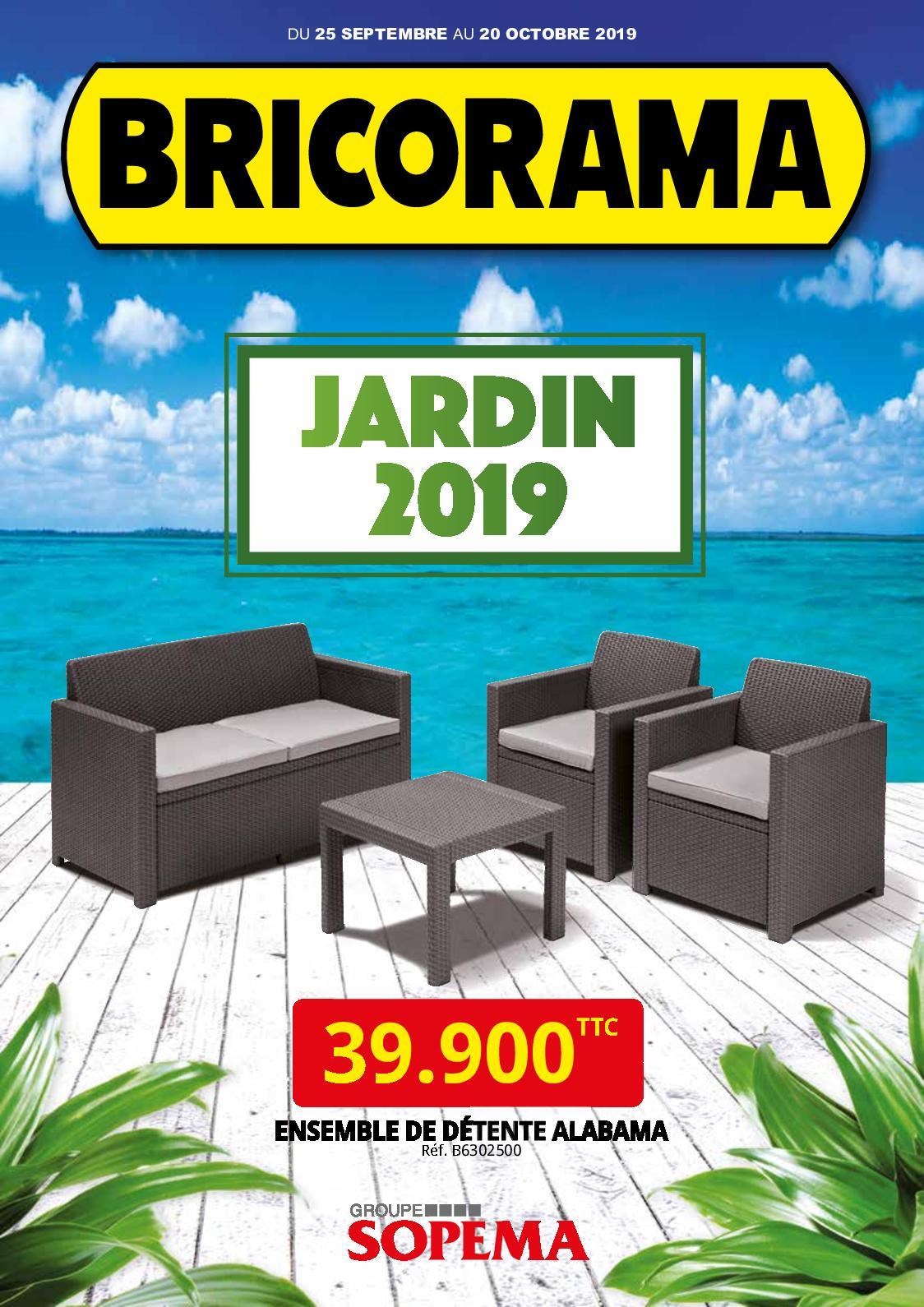 Calaméo - Bricorama Catalogue Jardin 2019 dedans Serre De Jardin Bricorama