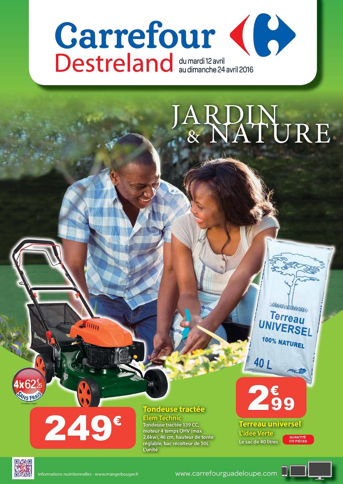 Calaméo - Carrefour Catalogue Jardin & Nature à Balancelle De Jardin Carrefour