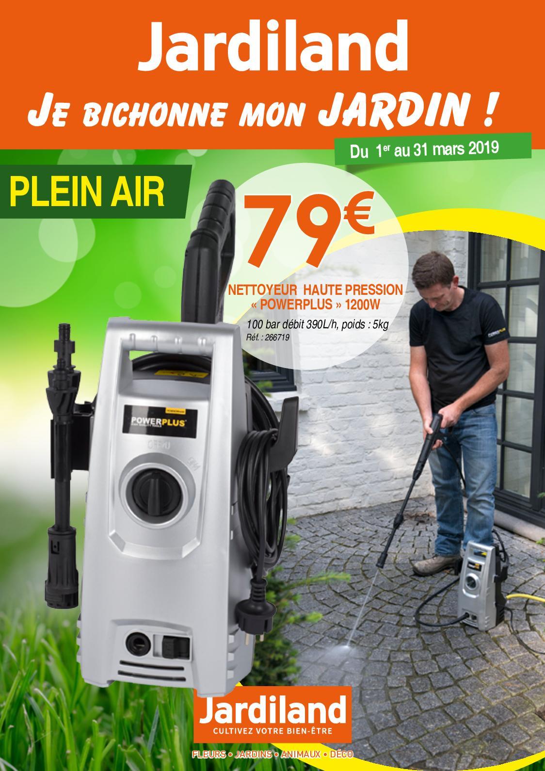 Calaméo - Cat En Ligne 12P Jardiland Mars 2019 Ok serapportantà Table De Jardin Aluminium Jardiland