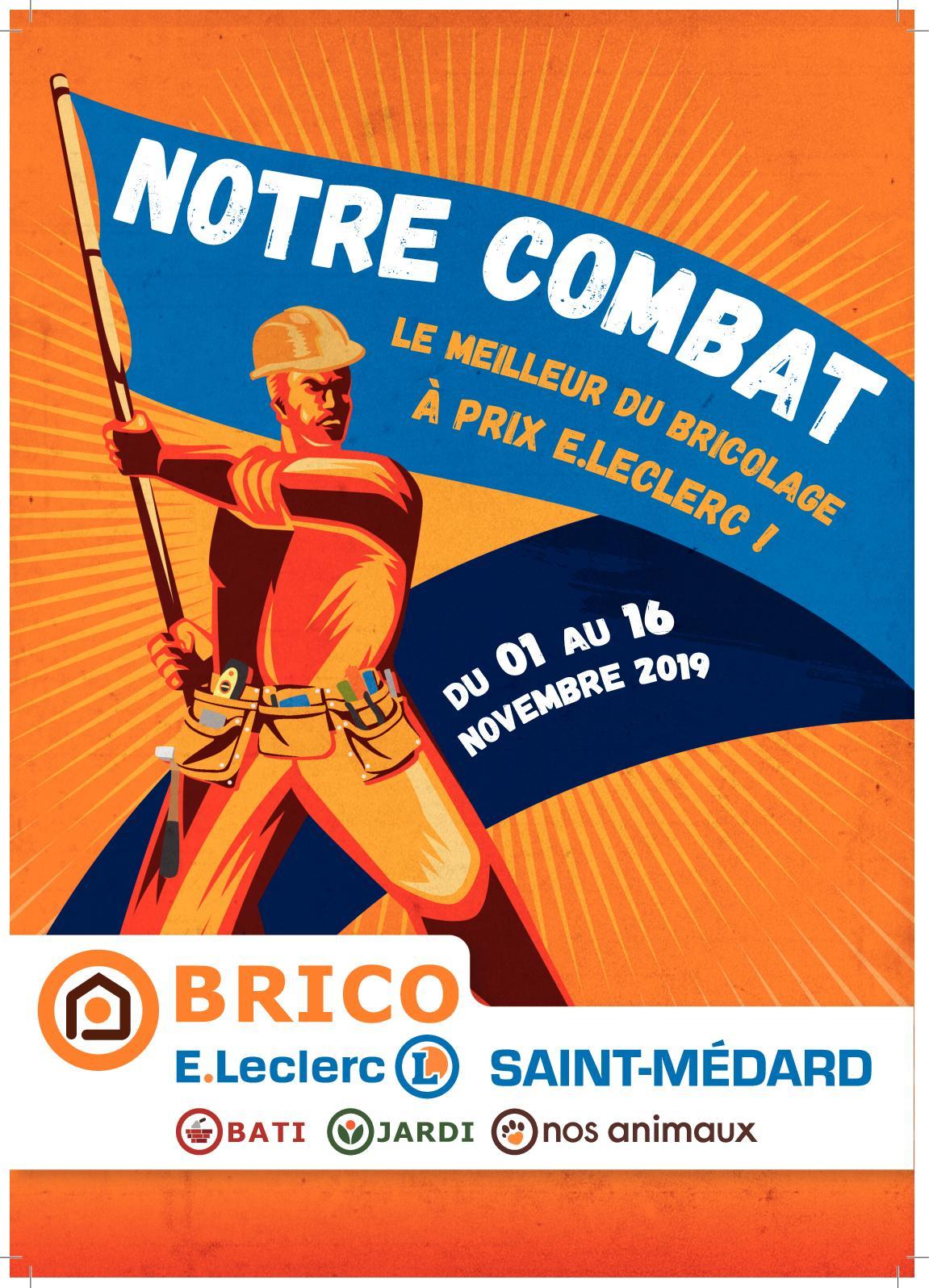 Calaméo - Catalogue Brico E.leclerc Saint-Médard intérieur Abri De Jardin E Leclerc