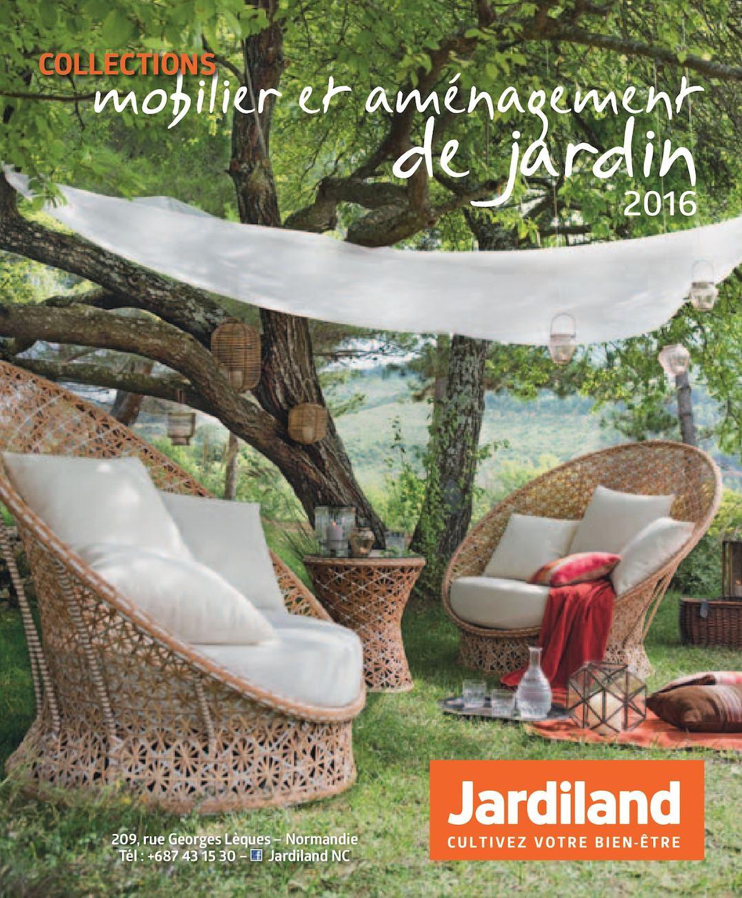Calaméo - Catalogue Été 2016 Jardiland Nouvelle-Calédonie tout Jardiland Mobilier De Jardin