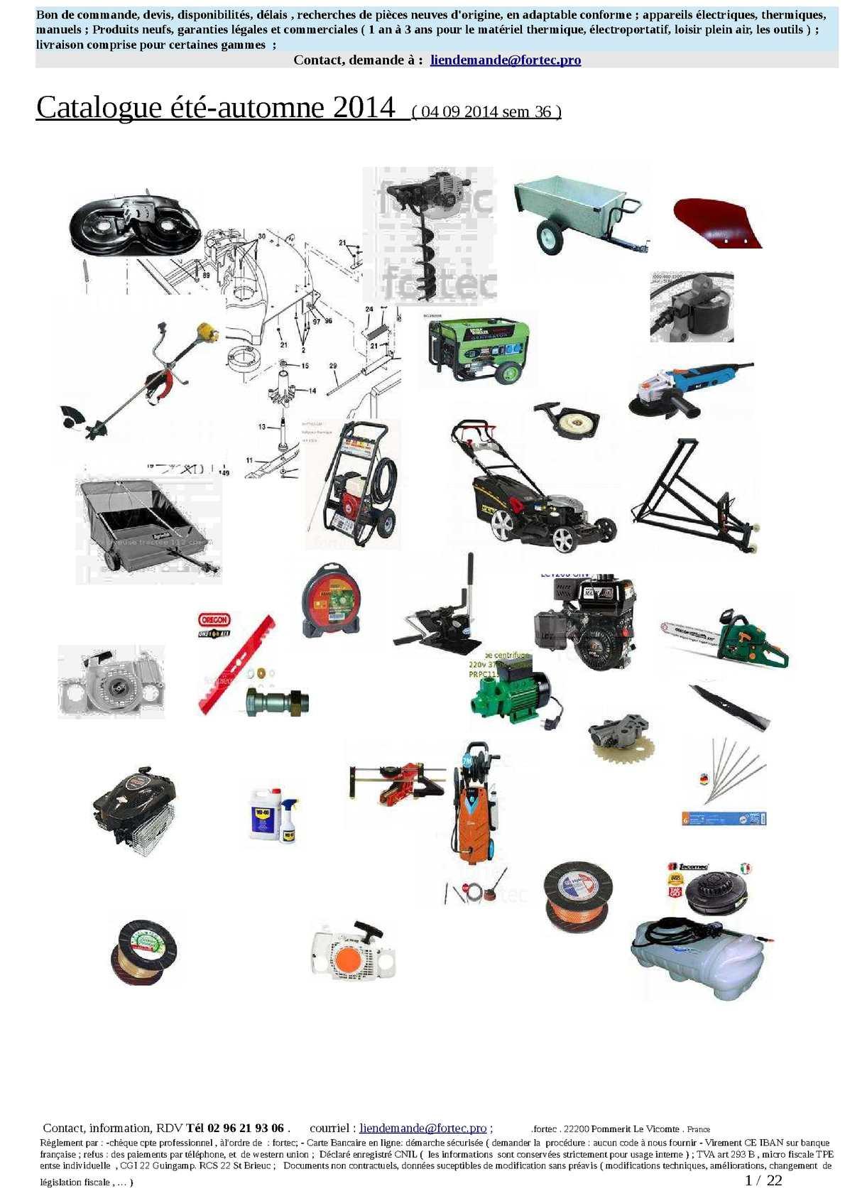 Calaméo - Catalogue Été-Automne 2014, Motoculture, Jardin ... tout Materiel De Jardin Discount