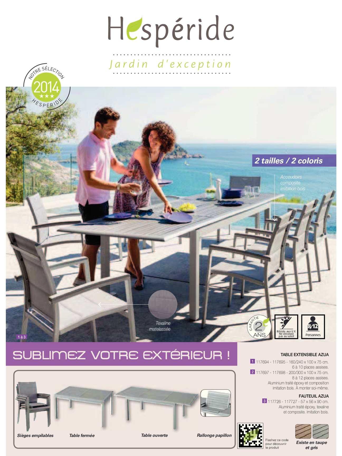 Calaméo - Catalogue Hespéride La Foir'fouille concernant Foir Fouille Salon De Jardin