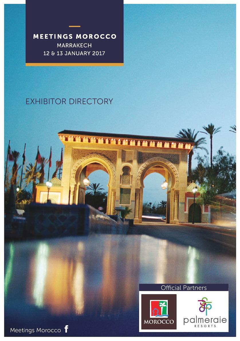 Calaméo - Catalogue Meetings Morocco 2017 serapportantà Centrakor Salon De Jardin