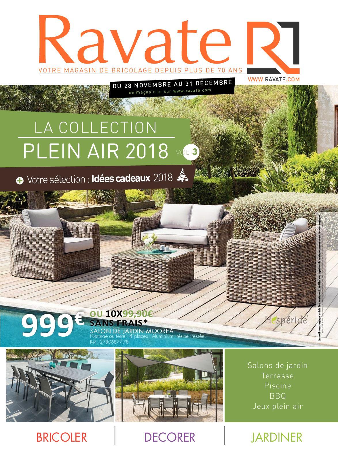 Calaméo - Collection Plein Air 3 Ravate Brico destiné Salon De Jardin Tressé Leclerc