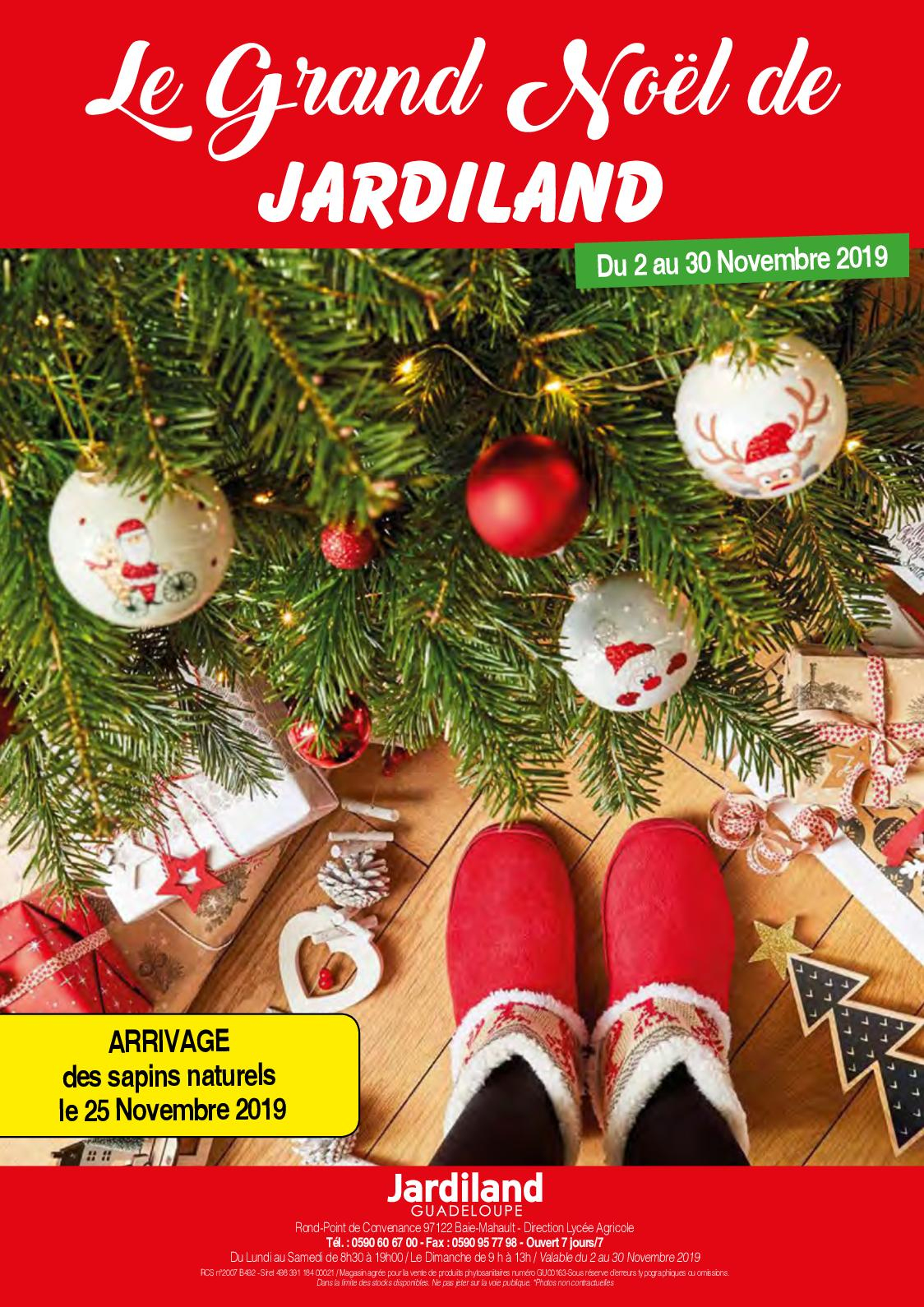 Calaméo - Le Grand Noel De Jardiland 2019 dedans Table De Jardin Aluminium Jardiland