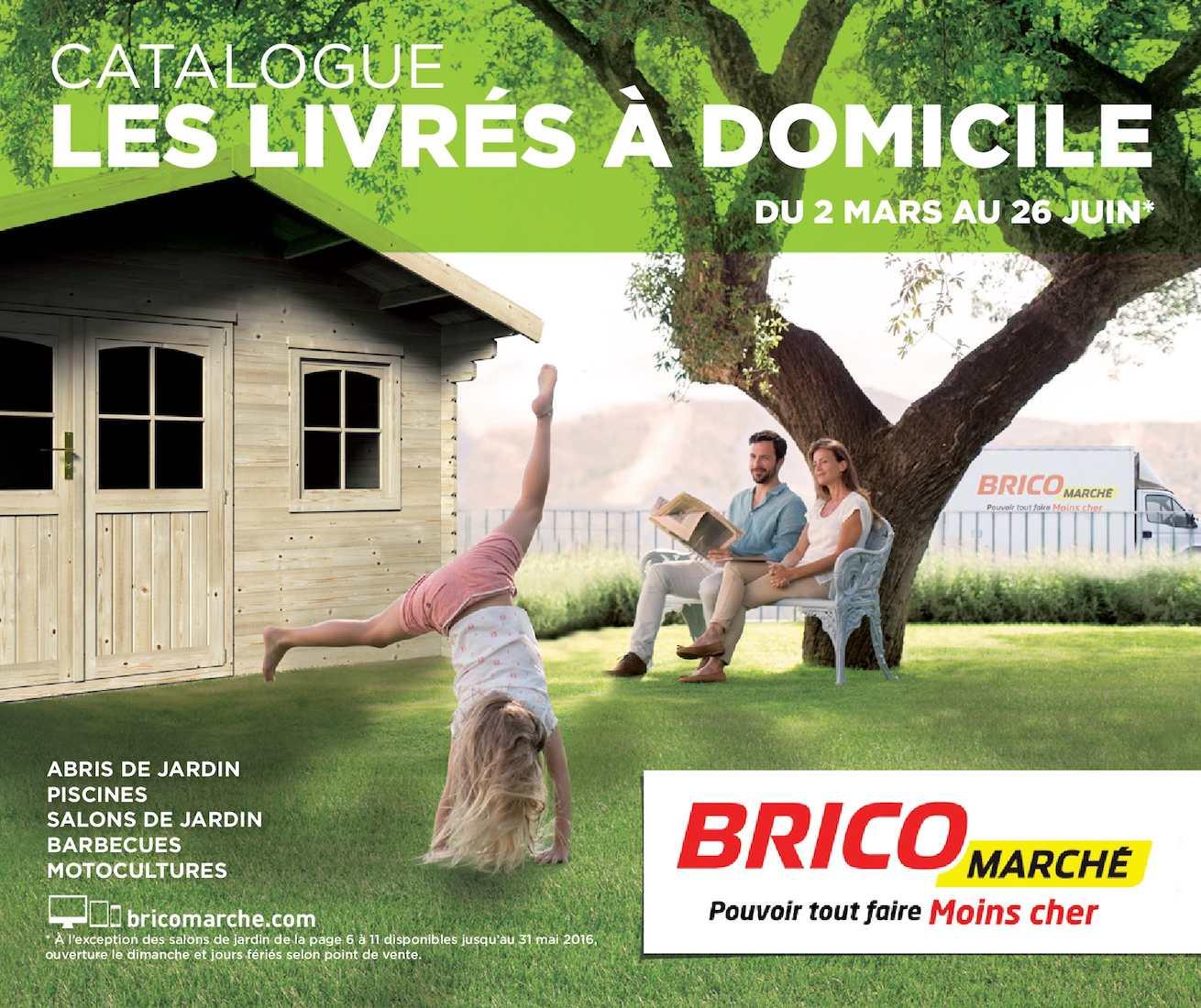 Calaméo - Livre A Domicile 2016 avec Abri De Jardin Bois Bricomarché