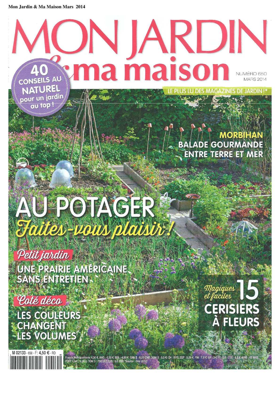 Calaméo - Mon Jardin Et Ma Maison - Février 2014 concernant Magazine Mon Jardin Et Ma Maison