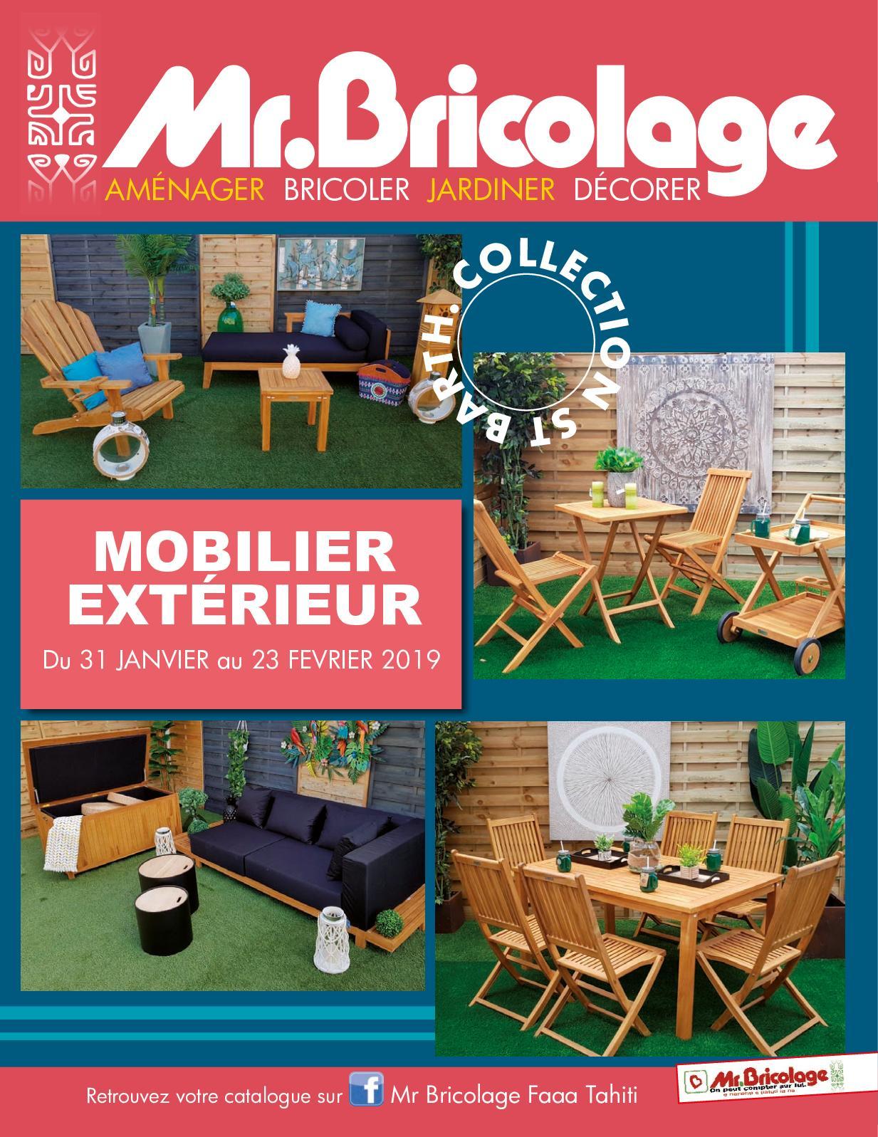 Calaméo - Mr Bricolage Mobilier pour Salon De Jardin Mr Bricolage
